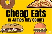 Cheap Eats in James City County