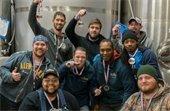 Alewerks Brewing Team with their Best Brewery medals