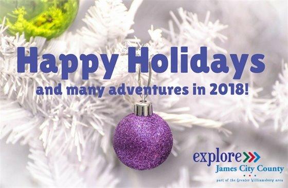 Happy Holidays from Explore James City County
