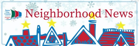 Neighborhood News title banner