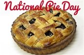 National Pie Day is Jan. 23