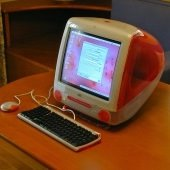 old iMac desktop computer