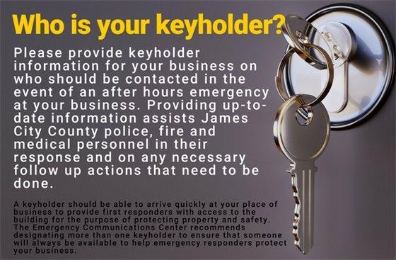 Keyholder Information