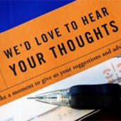 We'd love to hear your thoughts library survey