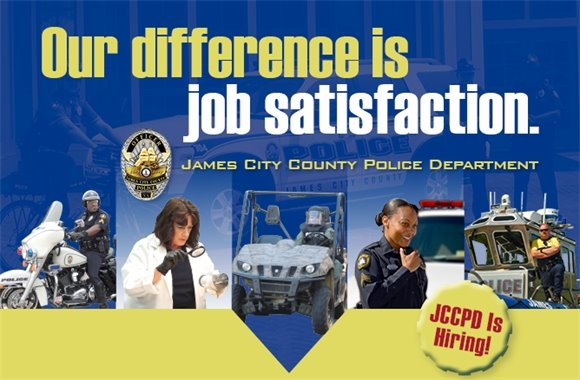 Our difference is job satisfaction.  JCCPD is Hiring!