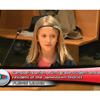 Student reciting pledge for March 14 meeting