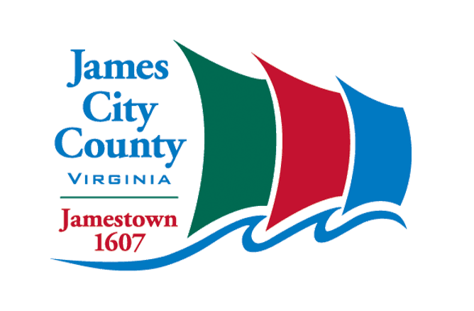 County logo James City County Virginia Jamestown 1607