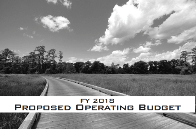 FY2018 Proposed Operating Budget