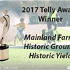 2017 Telly Award Winner Mainland Farm: Historic Ground, Historic Yield