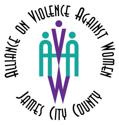 Alliance on Violence Against Women (AVAW) logo