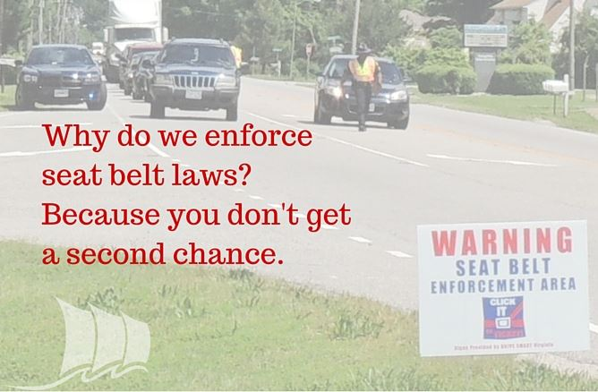 Click It or Ticket - seat belt law enforcement