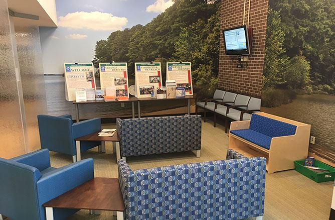 Social Services Waiting Area - February 2018
