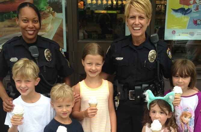 Ice Cream with a Cop