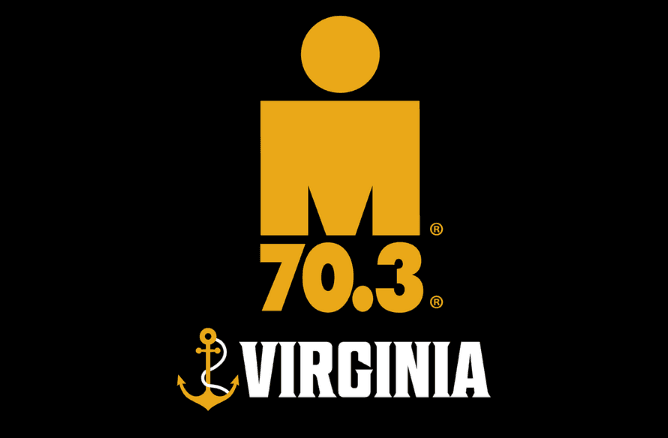IRONMAN 70.3 Virginia logo