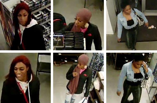 Calvin Klein & Tommy Hilfiger shoplifting suspects