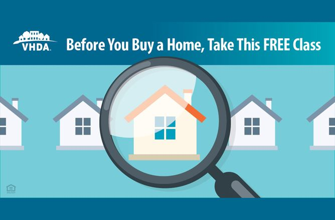 VHDA Before you buy a home take this free class