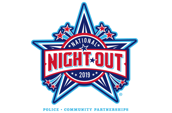National Night Out 2019 Police Community Partnerships logo