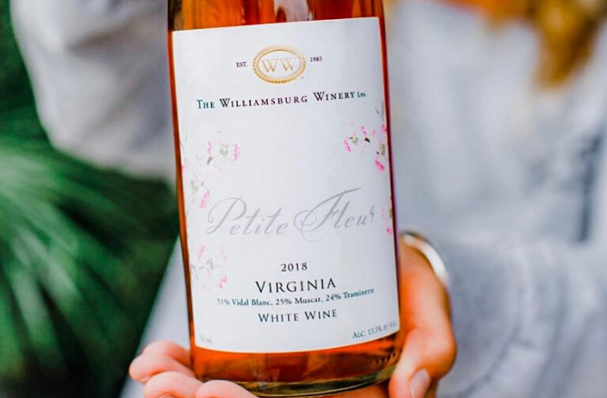 Williamsburg Winery Wins Gold Medal in 2020 Winemaker Challenge