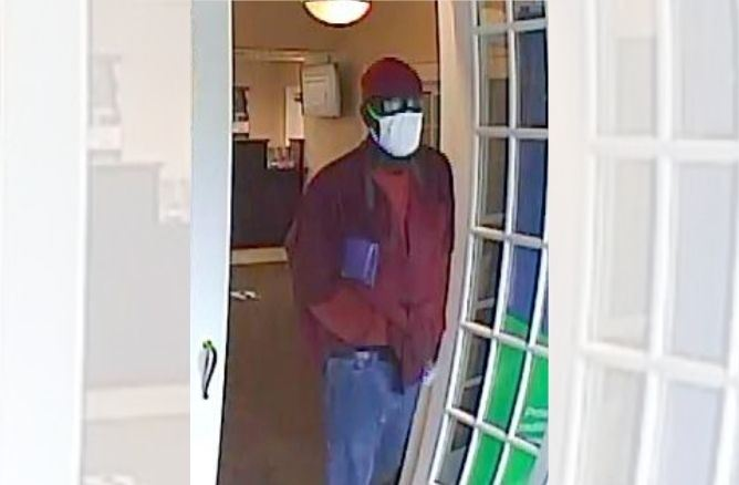 Atlantic Union Bank Robbery Suspect