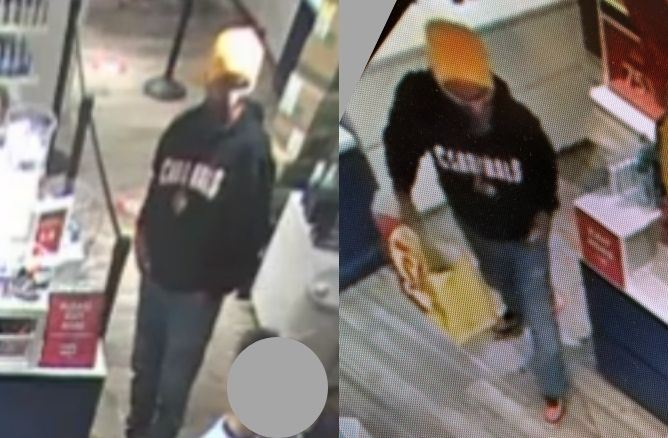 Larceny suspect - 20003941 - Sten flash