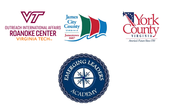 Emerging Leaders Academy Virginia Tech James City County York County logos