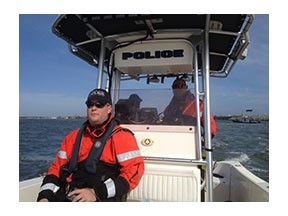 Police Marine Patrol Officers