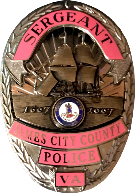 Pink Sergeant Badge