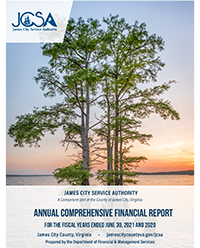 FY17 James City Service Authority Comprehensive Annual Financial Report Opens in new window