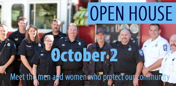 Open House October 2 meet the men and women who protect our community