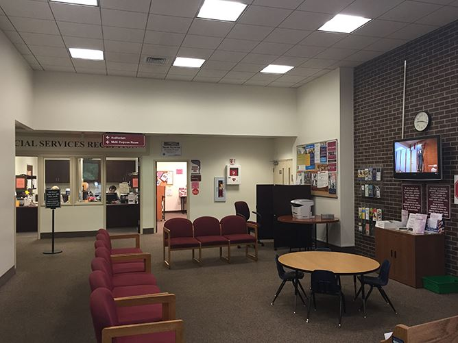 Social Services Waiting Area - December 2015
