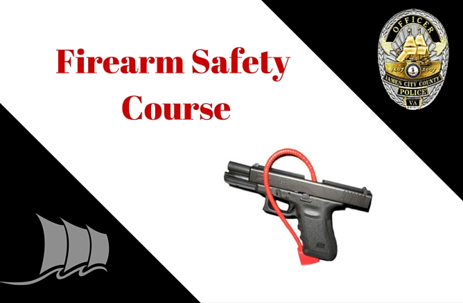 Firearm safety course logo